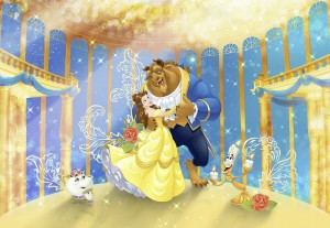 Fototapeta 8-4022 Beauty and the Beast