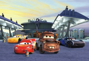 FOTOTAPETA 8-4101 Cars3 Station