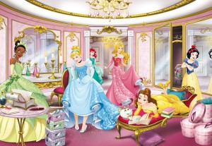 FOTOTAPETA 8-4108 Disney Princess Mirror