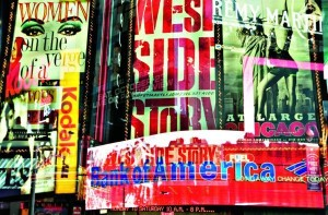Fototapeta 642 Times Square Neon Stories GIANT ART