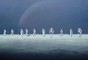 Fototapeta 8-444 STAR WARS SCARIF BEACH