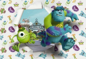 Fototapeta 8-471 Monsters University